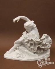 """Скльптура """"Г.С. Уланова в концертном номере """"Умирающий лебедь"""" К. Сен-Санса"""""""